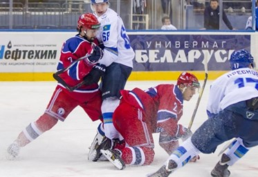 It was a tough battle but in the end Yunost Minsk beat Nomad Astana to claim the Continental Cup title. Photo: Alisa Keptyukha